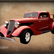 Wally & Crystal's '34 Ford Coupe