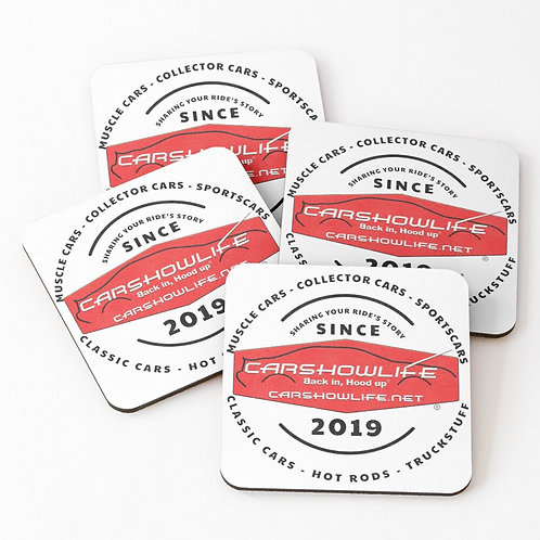 Telling Your Ride's Story Since 2019  Coasters (Set of 4)