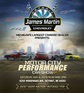 James Martin Chevy 2019 Poster