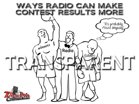 WAYS RADIO CAN MAKE CONTEST RESULTS MORE TRANSPARENT