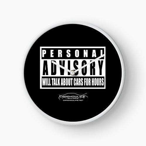 Personal Advisory Clock