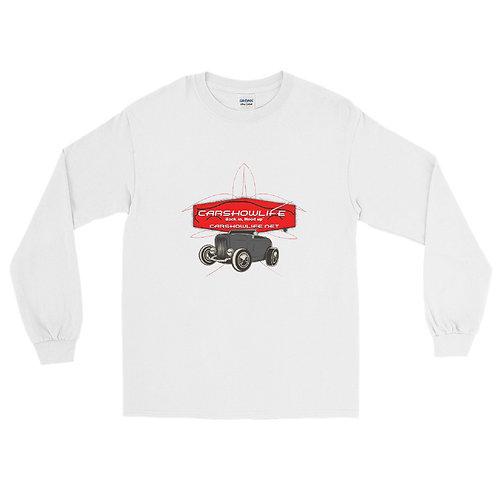 Hot Rod Pinstipe Long Sleeve Shirt