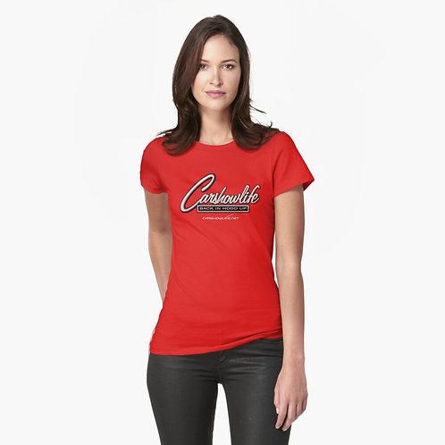 CSL Script Logo Fitted T-Shirt