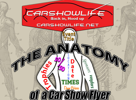 The Anatomy Of A Car Show Flyer