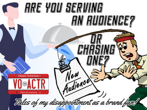 Are You Serving An Audience, Or Chasing One?