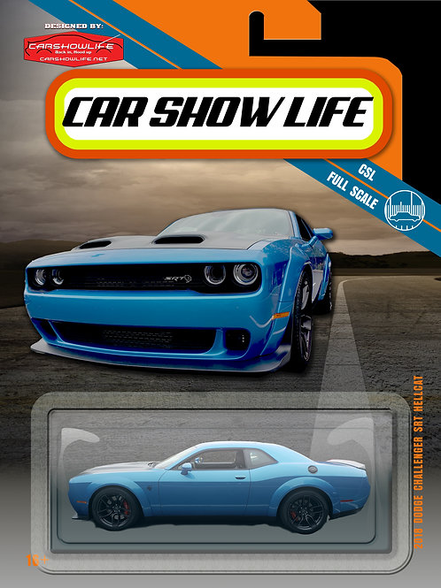Car Show Life Diecast Blister Pack Print