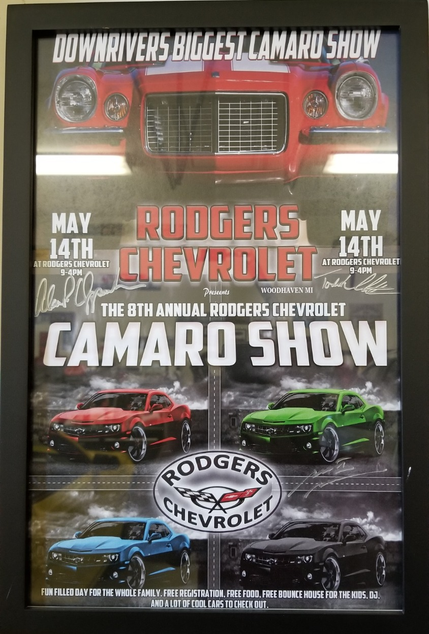 Rodgers Chevrolet All Camaro Show