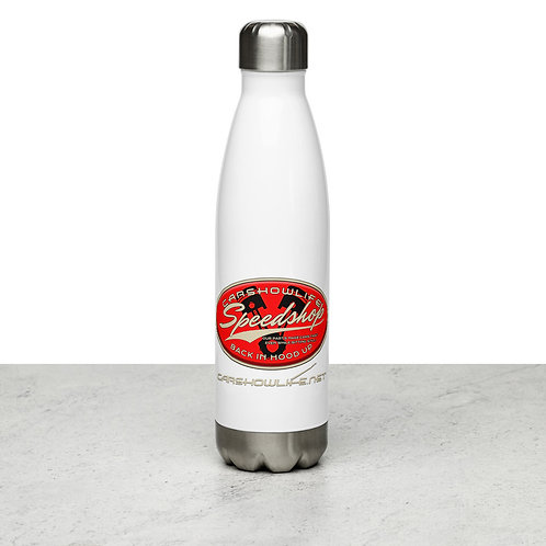 Speed Shop Stainless Steel Water Bottle