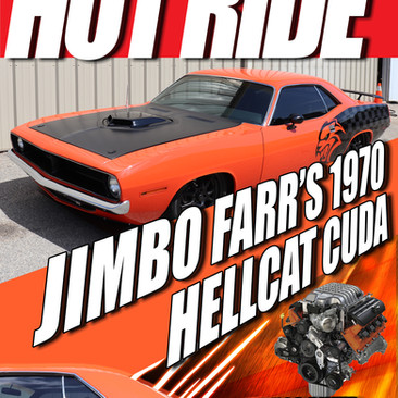 Hot Ride Magazine Cover
