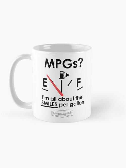 Smiles Per Gallon Mug