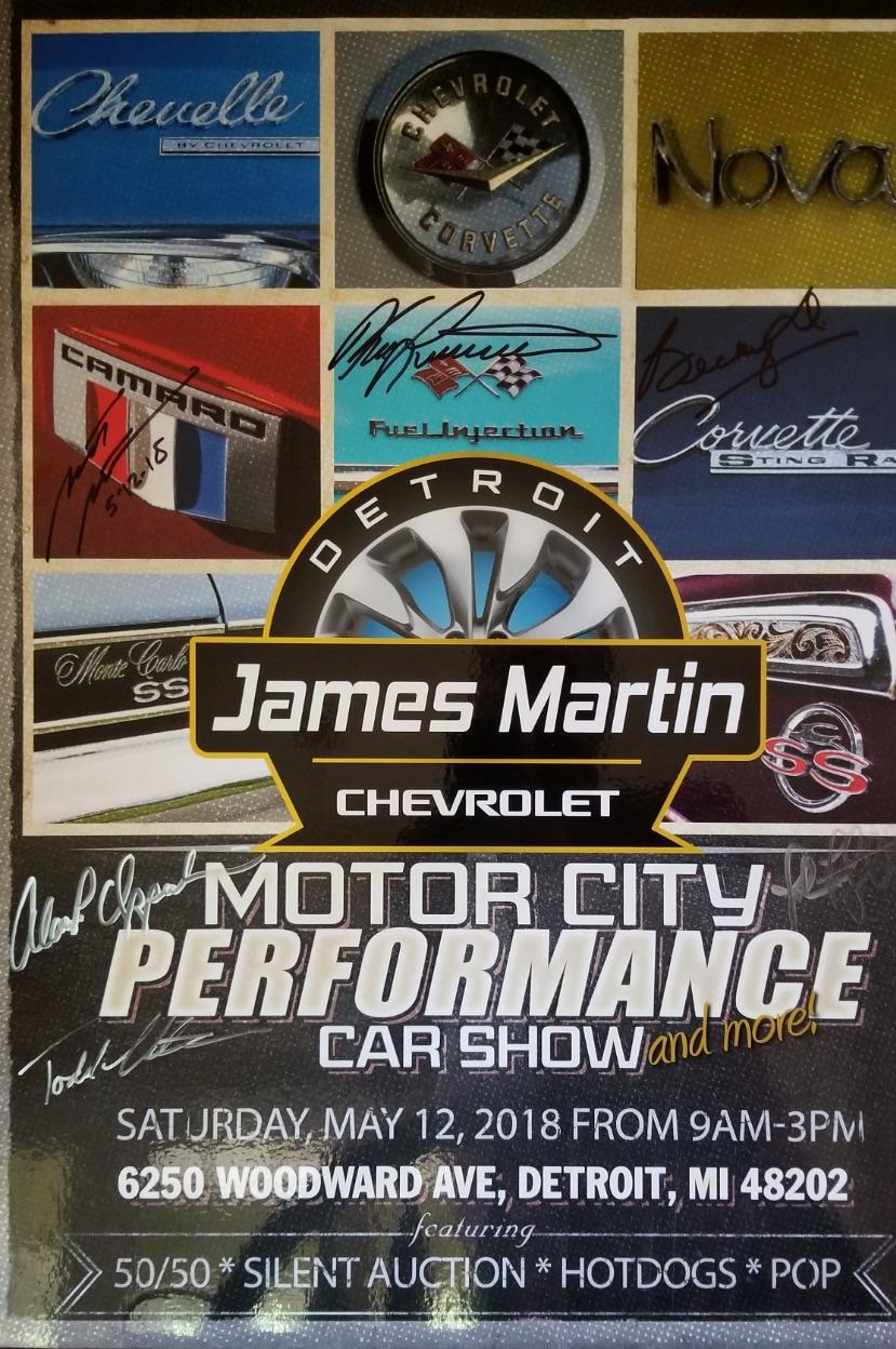 James Martin Motor City Performance