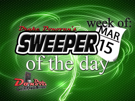 SWEEPER OF THE DAY COPY: WEEK OF 03/15/2021