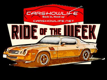 Ride Of The Week 06/07/2021: Steve Mike's 1978 Z28 Camaro