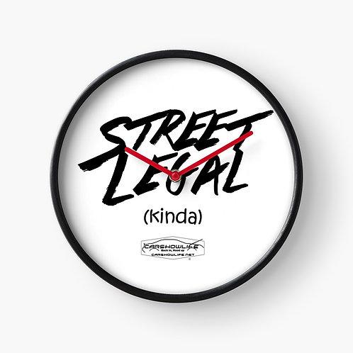 Street Legal (Kinda) Clock