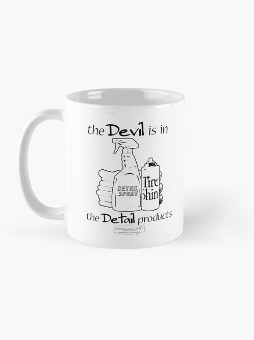 The Devil Is In The Detail Products Mug