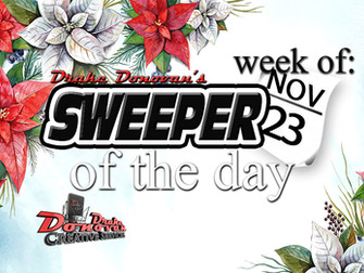 SWEEPER OF THE DAY COPY: WEEK OF 11/23/2020