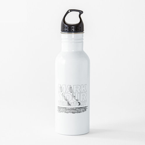 Mark Your Territory Water Bottle