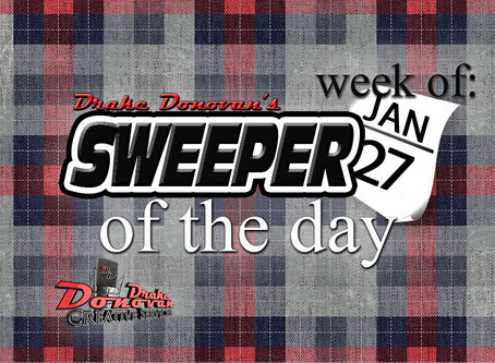 SWEEPER OF THE DAY: WEEK OF 01/27/2020