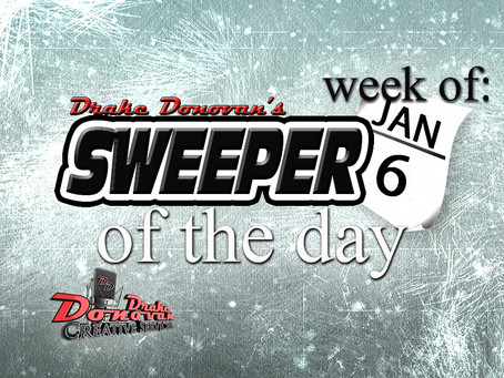 SWEEPER OF THE DAY: WEEK OF 01/06/2020