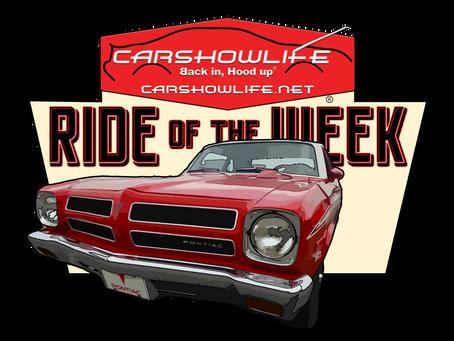 Ride Of The Week 11/16/2020: Dale Merrill's 1972 Pontiac Ventura II Sprint