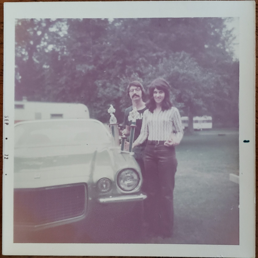 Mom & Dad in 1972