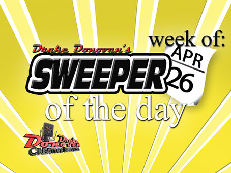 SWEEPER OF THE DAY COPY: WEEK OF 04/26/2021