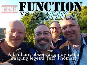 FUNCTION vs FASHION When It Comes To Radio Imaging
