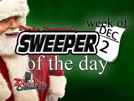 SWEEPER OF THE DAY COPY FOR THE WEEK OF 12/02/19