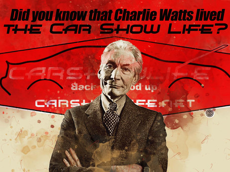 Did You Know Charlie Watts Lived The Car Show Life?