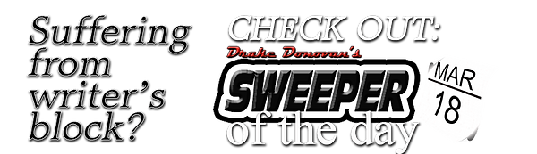 Drake Donovan's Sweeper Of The Day