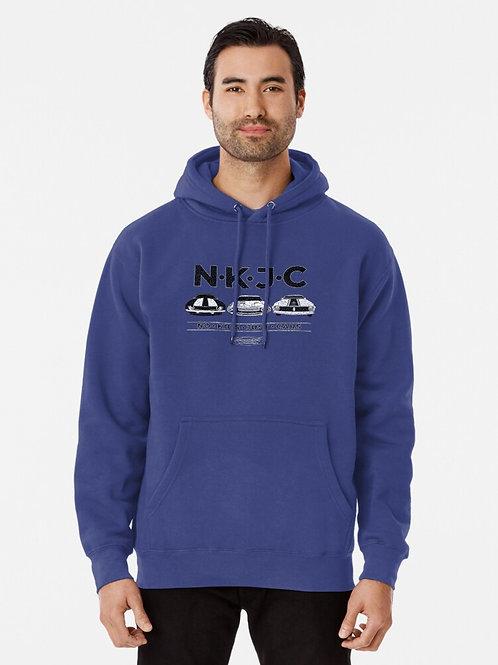 No Kids Just Cars Hooded Sweatshirt