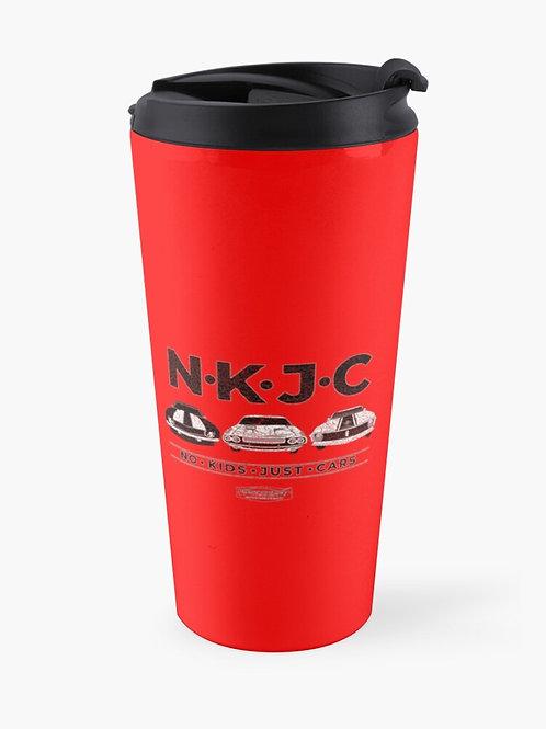 No Kids Just Cars Travel Mug