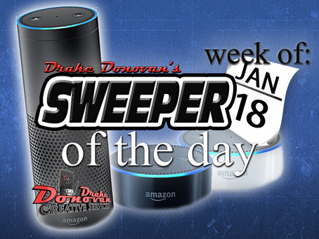 SWEEPER OF THE DAY COPY: WEEK OF 01/18/2021