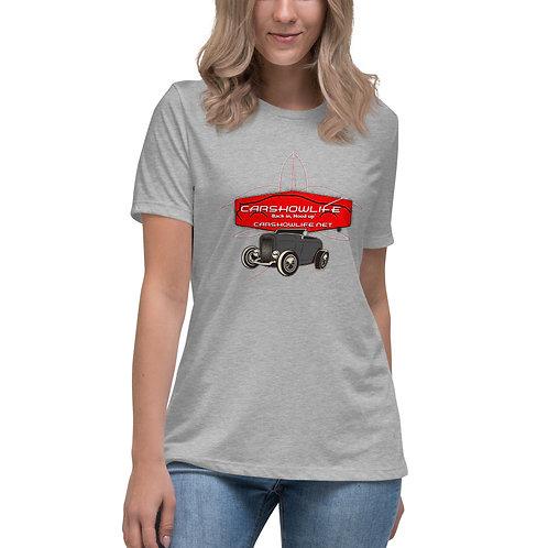 Car Show Life-Hot Rod Pinstripe Women's T-Shirt