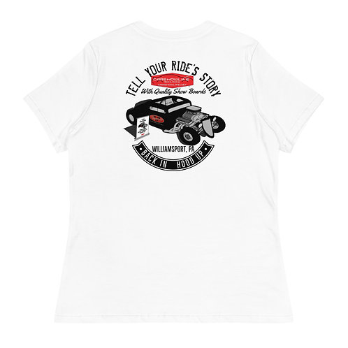 Tell Your Ride's Story-Rat Rod Women's T-Shirt