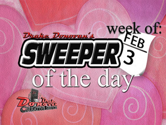 SWEEPER OF THE DAY: WEEK OF 02/03/2020