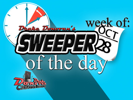 SWEEPER OF THE DAY COPY FOR WEEK OF 10/28/2019