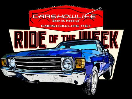 Ride Of The Week 08/09/2021: Matthew Davenport's 1972 El Camino