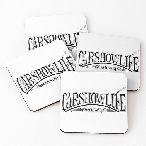 CSL Stylized Logo Coasters (Set of 4)