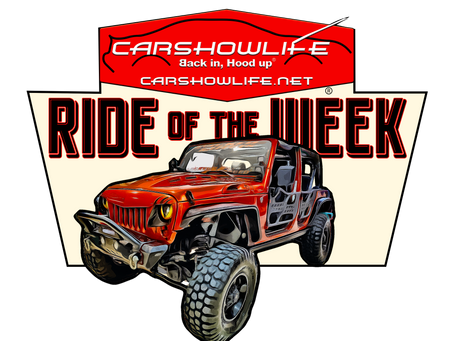 Ride Of The Week 07/05/2021: Andrew Bealer's 2009 Jeep Wrangler Unlimited X