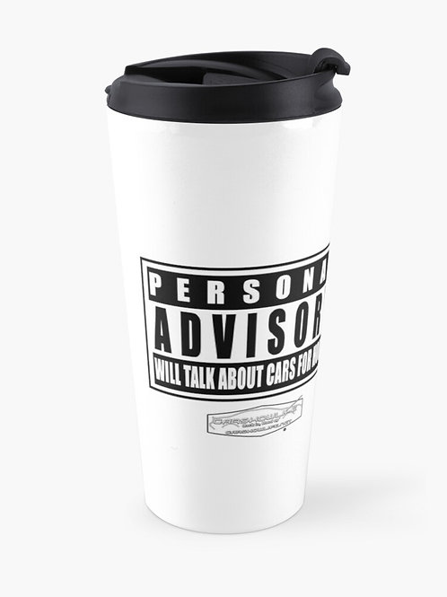 Personal Advisory Travel Mug