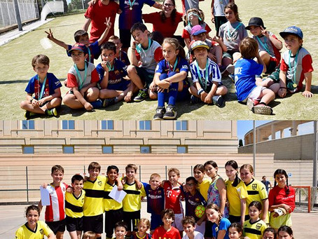 Jornada esportiva final de curs 2017-18 a l'INEFC Barcelona.