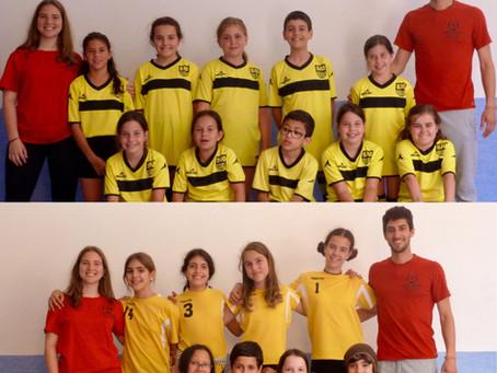 Fotografies dels equips de Voleibol i Futbol-5