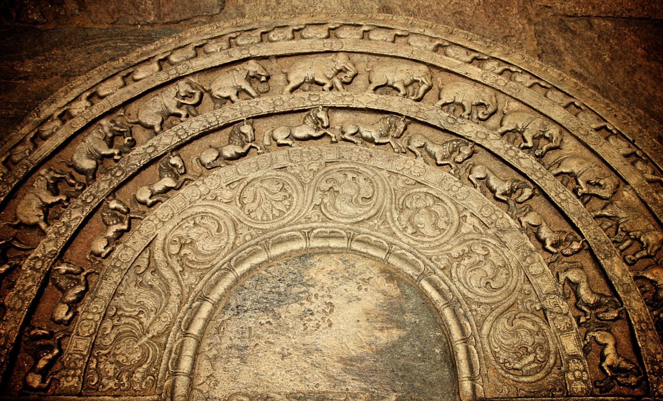 Polonnaruwa moonstone