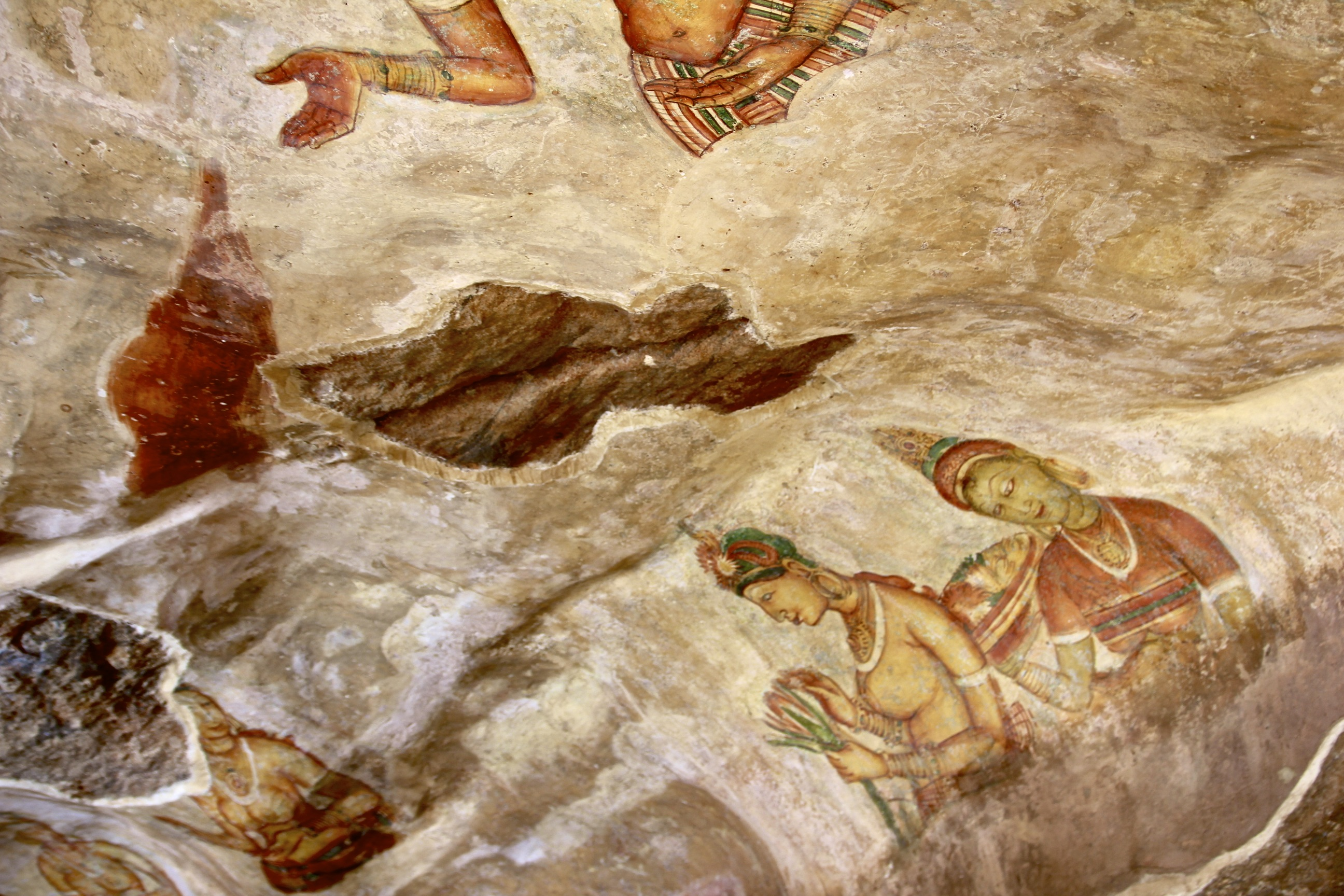 Sigirya Cave Paintings