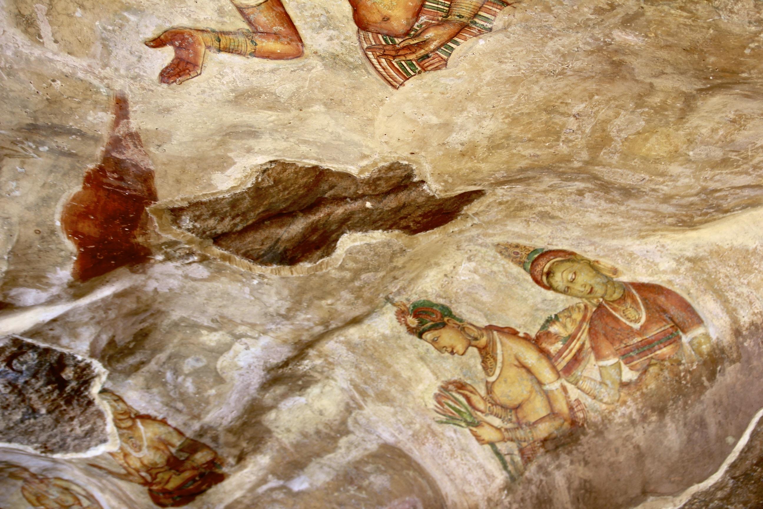 Sigirya Cave Paintings