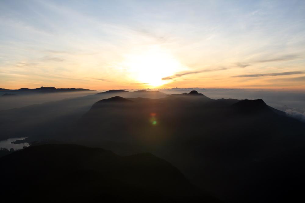 sonnenaufgang adams peak - B.Rehm