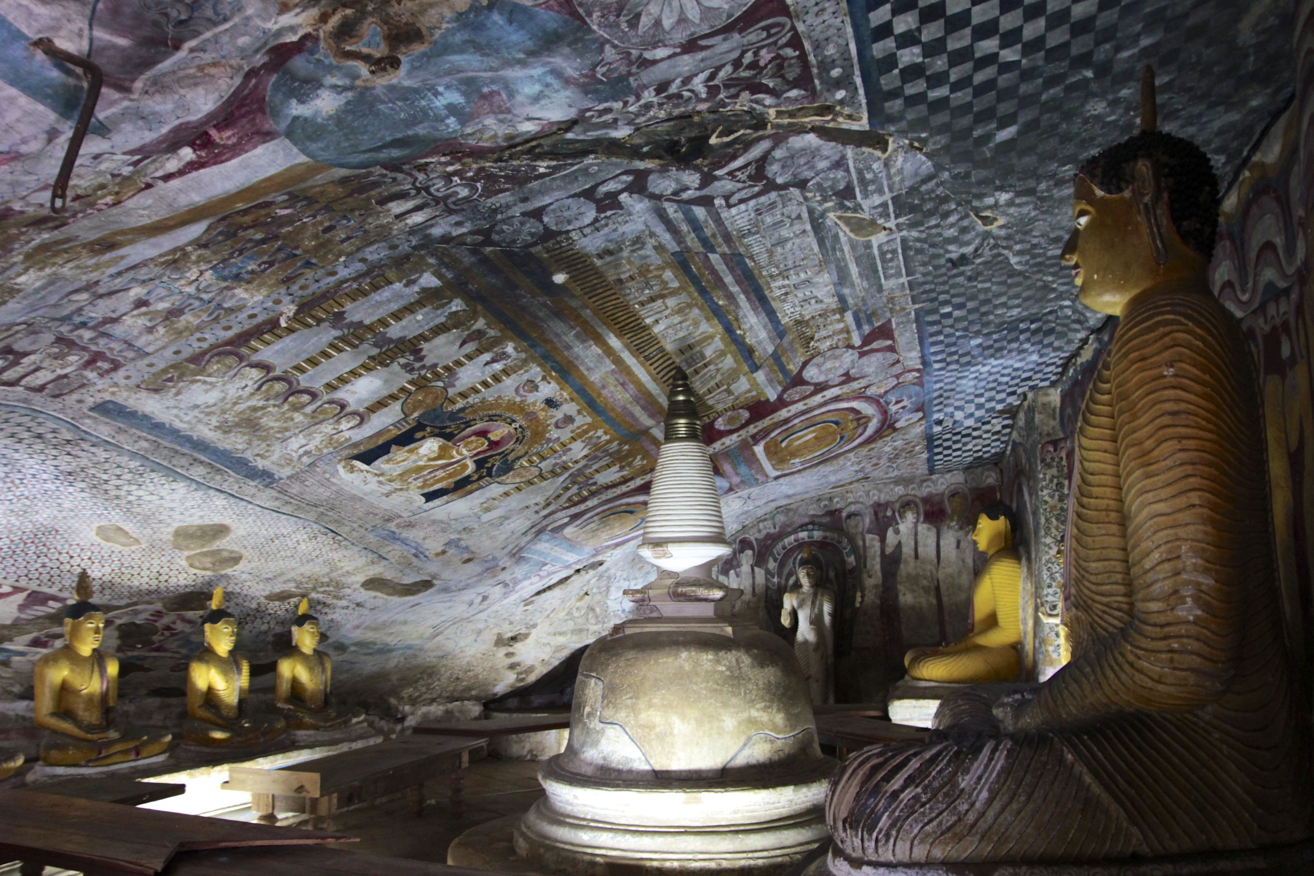 Dambulla Cave Temples Cave Paintings