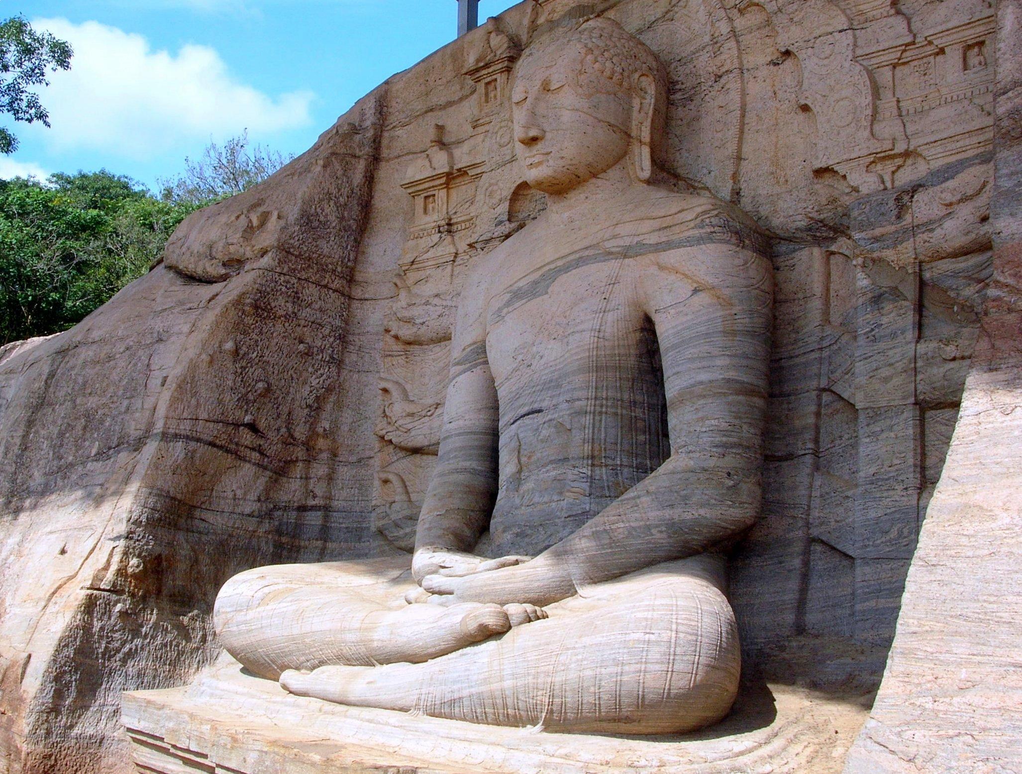 Polonnaruwa_Mönch_7