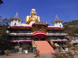 Dambulla Cave Temples Entry